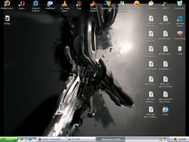 My current Desktop by mimory