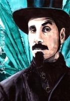 Serj Tankian - marker portrait by Red-Szajn