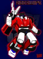 Transformers Sideswipe by Mono-Phos