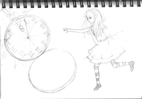 Sketch: The Wonderland Dimension by Jeenso