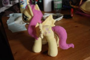 Fluttershy Plushie by Siora86