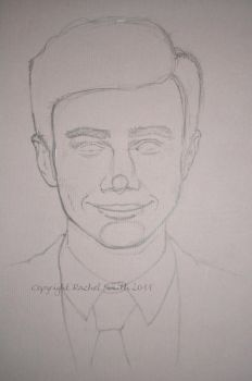 Chris Colfer WIP by withering-black-rose