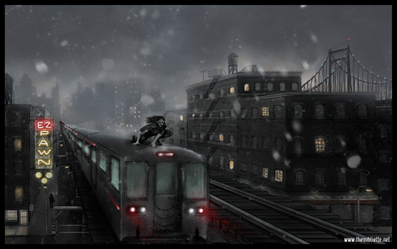 Night Train by The-Oubliette