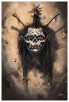Shrunken Head by NathanRosario