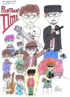 AVGN and NC - Partners in Time Cover Part 2 by moniek-kuuper