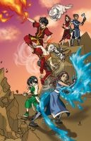 Team Avatar by cirgy