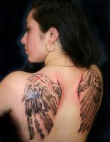 broken wings by tattooneos