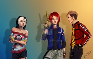 Commission - Hollowpoint Riot by tbdoll