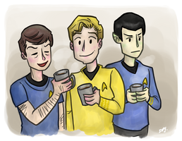 coffee on the enterprise by dongpeiyen1000