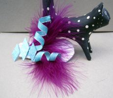 My Little Pony Rarity Cutie Mark Hairclip by spaceraptor
