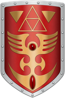 ALTTP Red Shield by BLUEamnesiac
