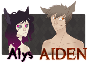 Alys and Aiden Humans by Novaling
