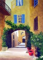 French Archway by ronnietucker