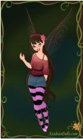 Me as a fairy 2 by Twilightzonegirl13