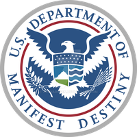U.S. Department of Manifest Destiny logo by Archarugen