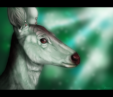 Kie Deer by umbrafen
