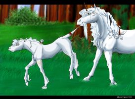 A Mother's Wuv by DianaEquine