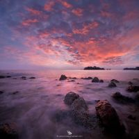 Fiery Sunset by firdausmahadi