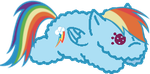 [FREE TO USE] Rainbow dash by fluffylink