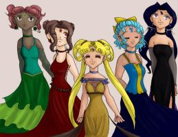 Divine Outer Princesses by JetsterJay