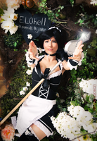 French Maid Nidalee Cosplay 2 by Nyandalee