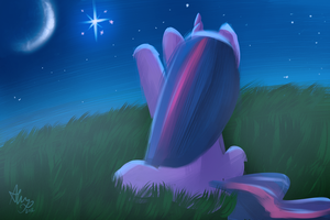Trying to reach a star by Alumx