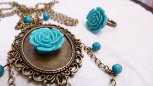 Rose of time by Rouages-et-Creations