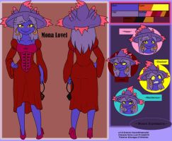 Commish - Mona Lovel Ref by shaloneSK