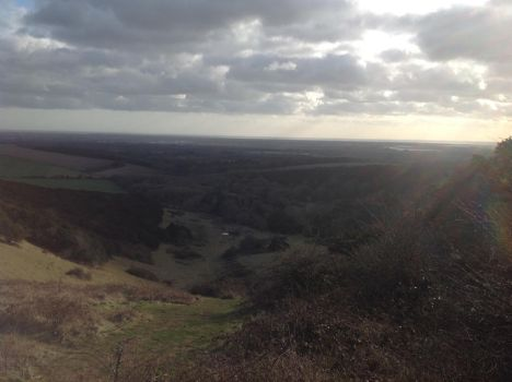 South Downs national park by Gryphondrake7991