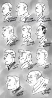 Heads of the NSDAP by Fyuvix