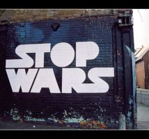 Stop Wars by strangelight