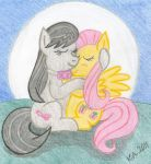 Octavia and Fluttershy Request by LordDominic