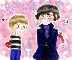 Will you be my valentine? SH by Hiluxy