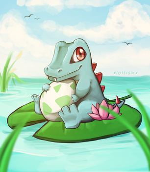 Floating pals by xlolfishx