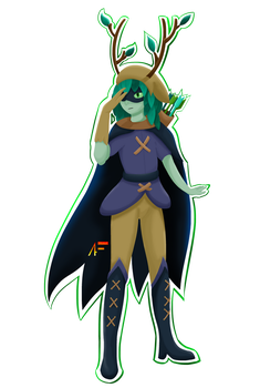 Huntress Wizard by AliasFiammetta