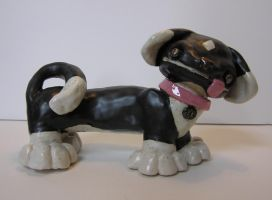Clay Puppy by corvusraven