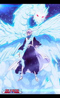 Bleach 553 - Frozen Cross by hyugasosby