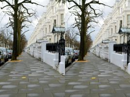 A Residential Street In Holland Park, London by aegiandyad