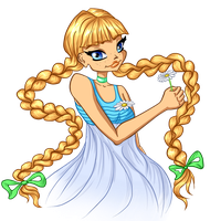 Rita in winx style by arielfairy