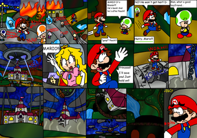 Super Mario Galaxy - Pg 8 by paratroopaCx