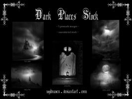 Dark Places Stock by wyldraven