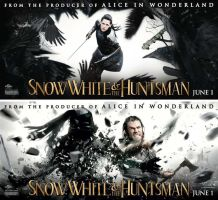 snow white and the huntsman  wallpapers by blakenoble6