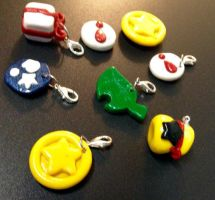 Animal Crossing Charms by Night-the-PantherCat