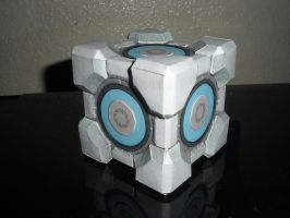 Aperture Weighted Storage Cube by DemonBa55Player