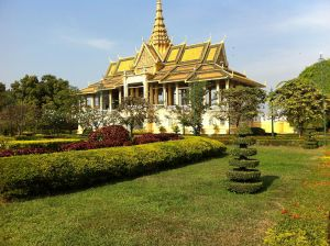 Cambodia Royal Palace by sitthykun