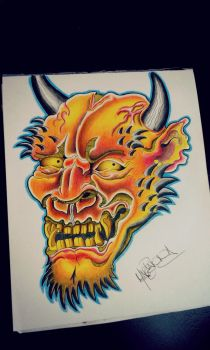 Hannya Mask by rotwolf93
