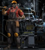 TF2 Engineer by lundqvist