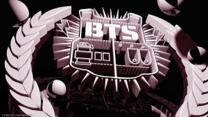 BANGTAN BOYS 3D LOGO by Jover-Design
