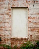 Boarded Up Window by 3dmirror-stock
