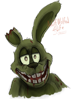 Unitled Springtrap drawing by AdolfWolfed4Life